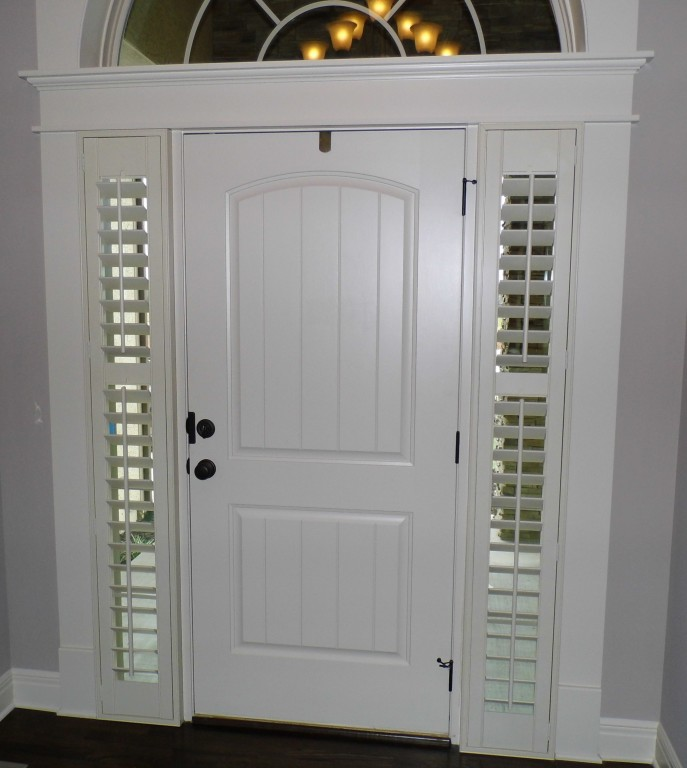 Side Light Shutters Orange Beach Blinds