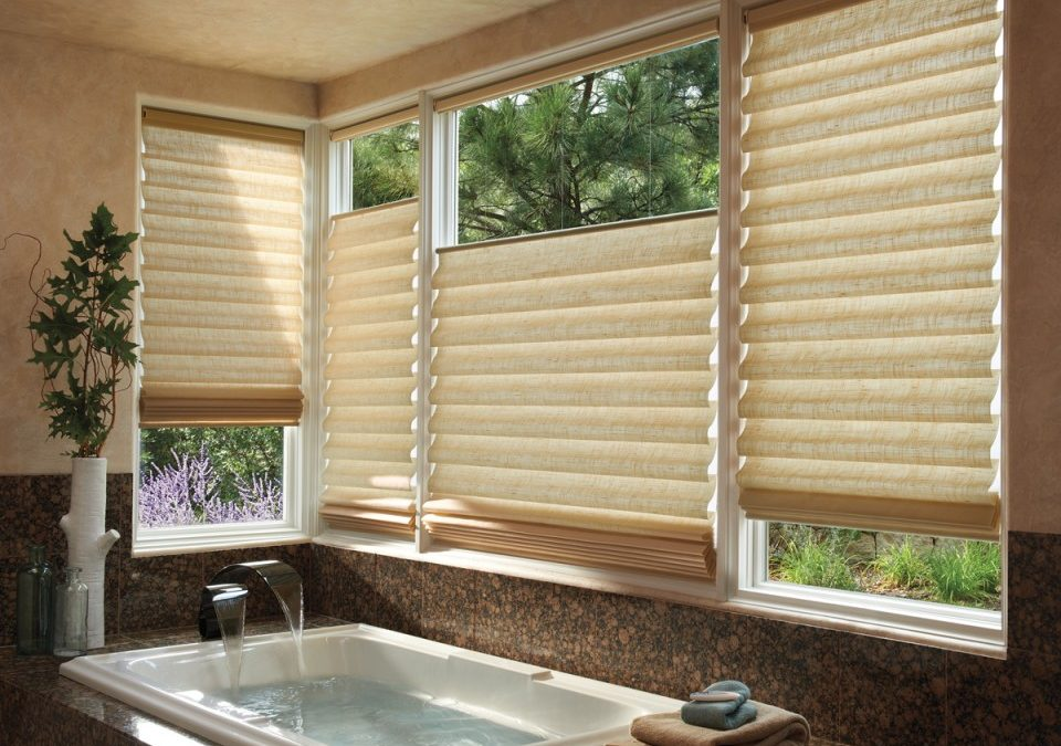Roman and Woven Shades in Daphne, Alabama.