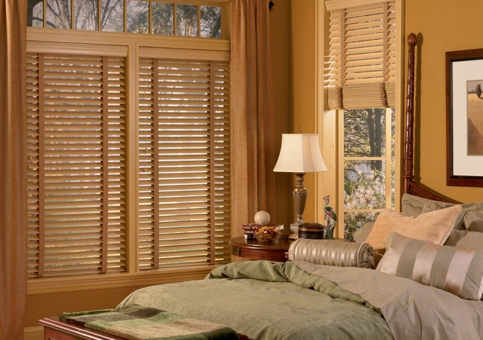 Wood And Faux Blinds In Foley, Alabama.